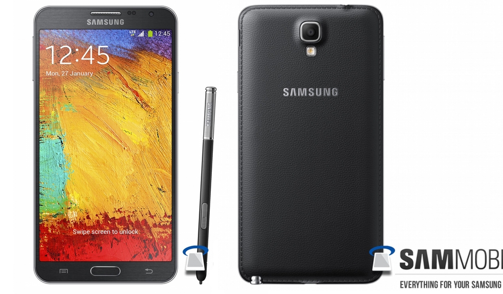 Samsung Galaxy Note 3 Neo leaks again