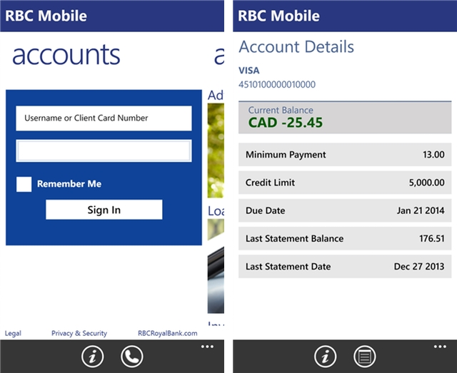rbc online banking app download