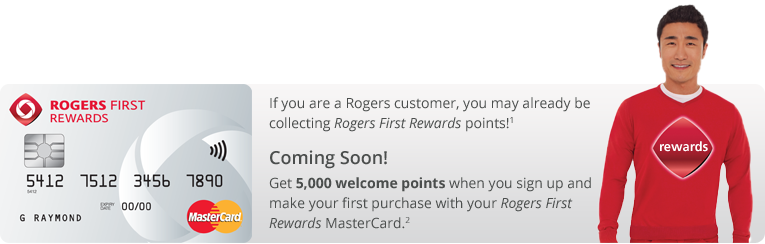 A few more details about the upcoming Rogers First Rewards MasterCard