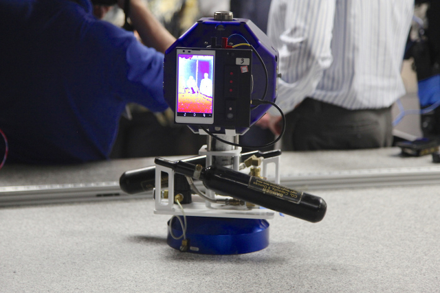 NASA SPHERE robot with Project Tango