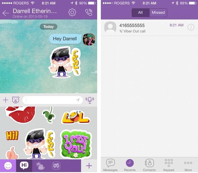 Viber for iPhone gets a long-awaited design overhaul