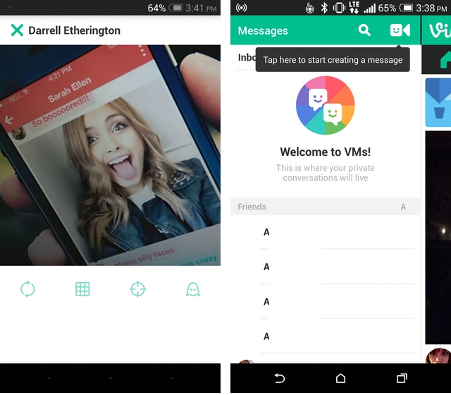 Vine adds private messaging feature on Android and iOS