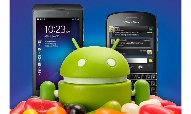 BlackBerry Android Runtime to get Jelly Bean 4 3 support in