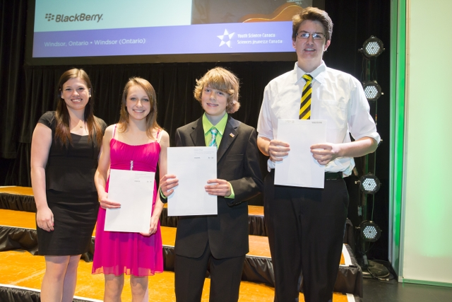 Canada-Wide Science Fair winners