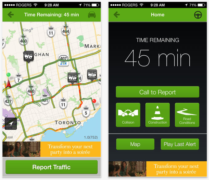 680News Traffic app for iPhone and Android now available