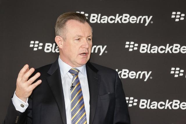 BlackBerry's John Sims