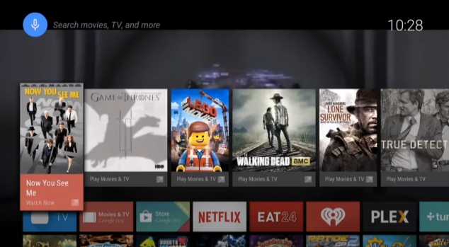 Android TV Content