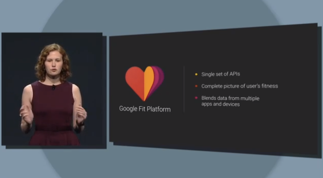 Google Fit features