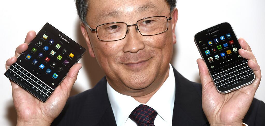 John Chen BlackBerry Classic