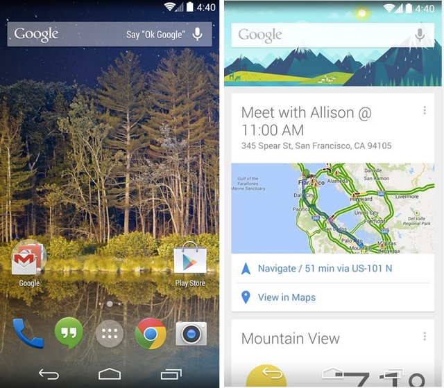 Google Now Launcher expands to all devices running Android 4.1 and above