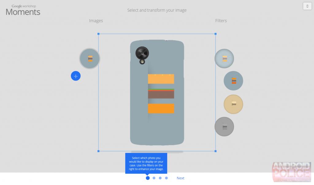 Google Nexus case design