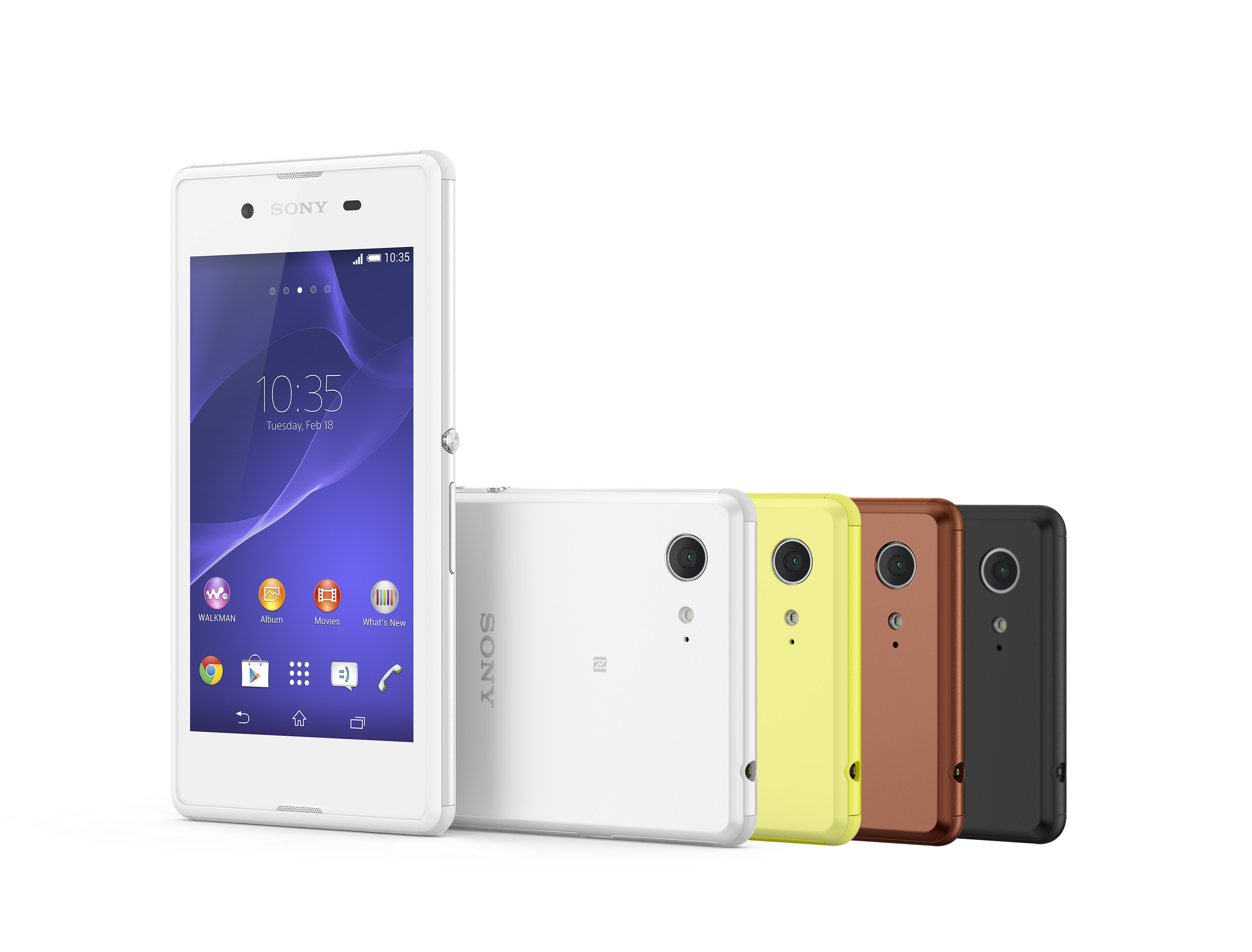 Sony announces mid-range Xperia E3 with global ...