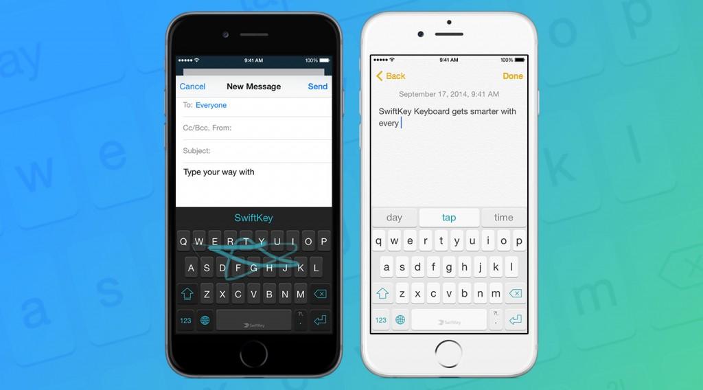SwiftKey for iOS 8