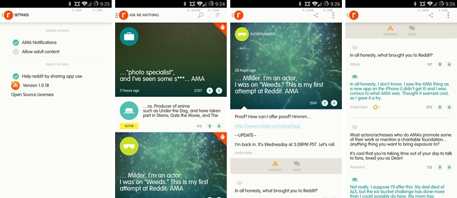 Reddit's new AMA app for iOS and Android helps service clean up for