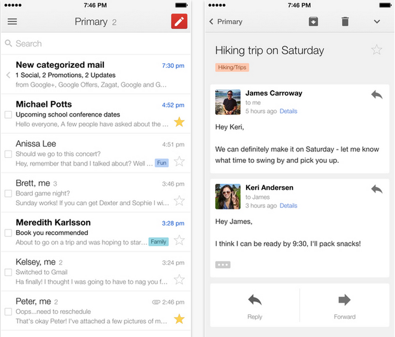 how to set up gmail on iphone 6 plus