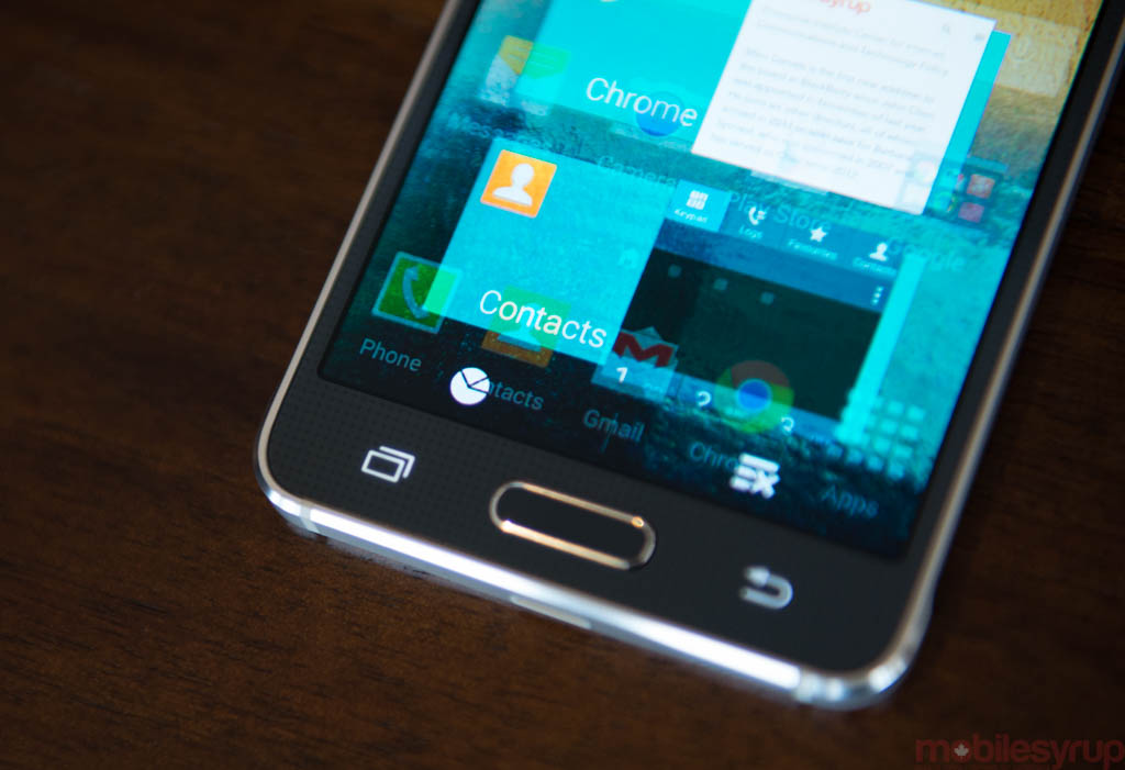 The Galaxy S6 will have a touch fingerprint sensor like the iPhone