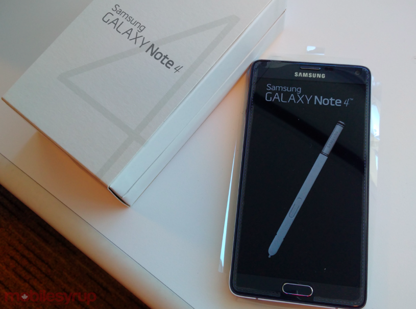 Win a Bell Samsung Galaxy Note 4! [Winner selected]