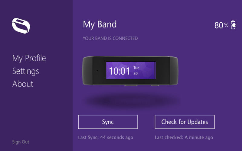 This is Microsoft's wearable called the 'Microsoft Band'