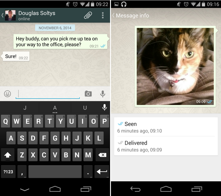 WhatsApp update brings confirmation of read messages