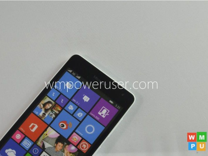 Microsoft's Snapdragon 200-powered Lumia 535 leaks in full