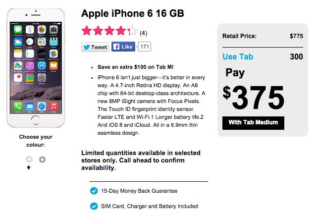 Koodo iPhone 6 offer