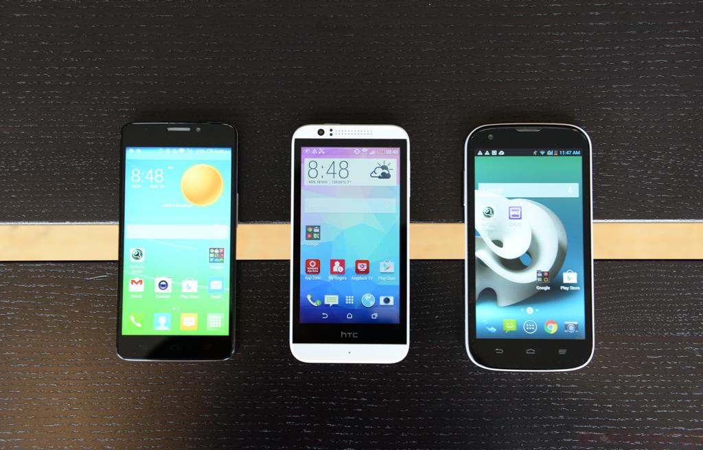 Mid-range Mayhem: Test-driving the HTC Desire 510, ZTE Grand X, and Alcatel OneTouch Idol X+