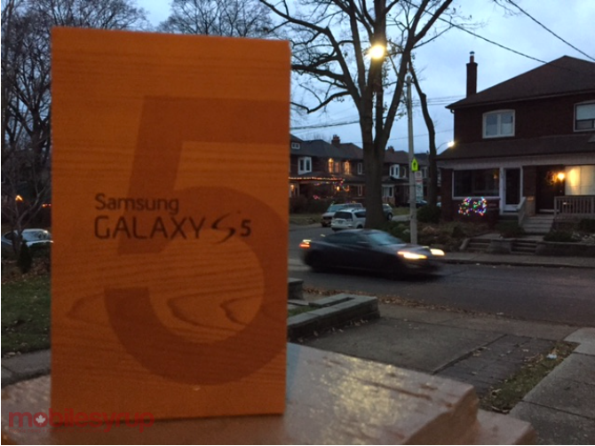 Winner announced in our Samsung Galaxy S5 contest!