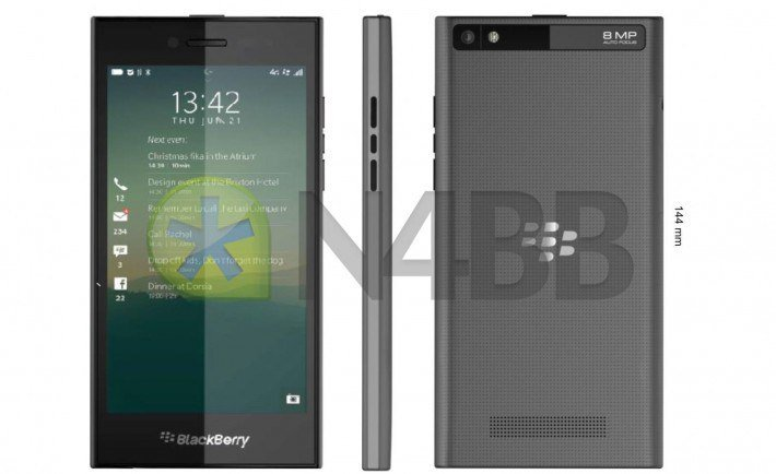 This is the upcoming BlackBerry Rio Z20