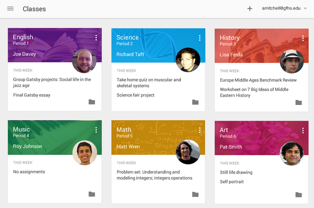 Google rolls out Classroom app for students and teachers