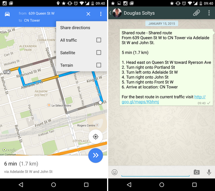 Google Maps will now tell you if a place you\'re going to is about to ...