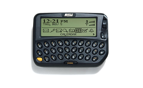 BlackBerry celebrates the 16th birthday of its first device, a pager powered by an Intel 386