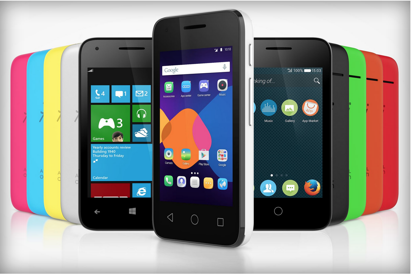 Alcatel's new Pixi smartphone line runs Android, Windows Phone and Firefox OS