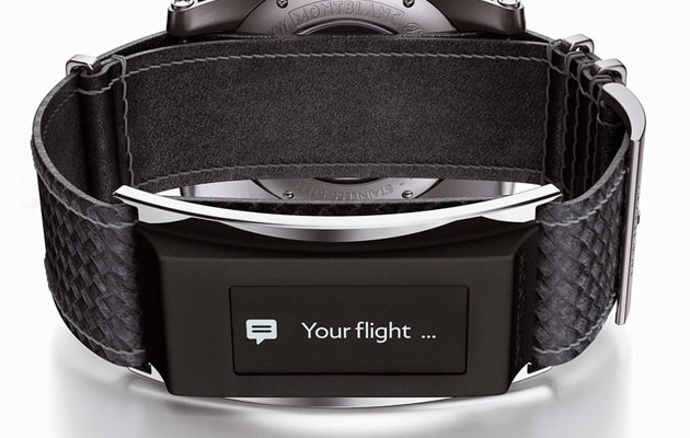 Montblanc unveils e-Strap that makes its traditional watches smarter