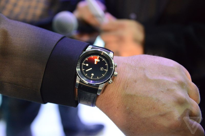 Audi and LG tease gorgeous smartwatch at CES