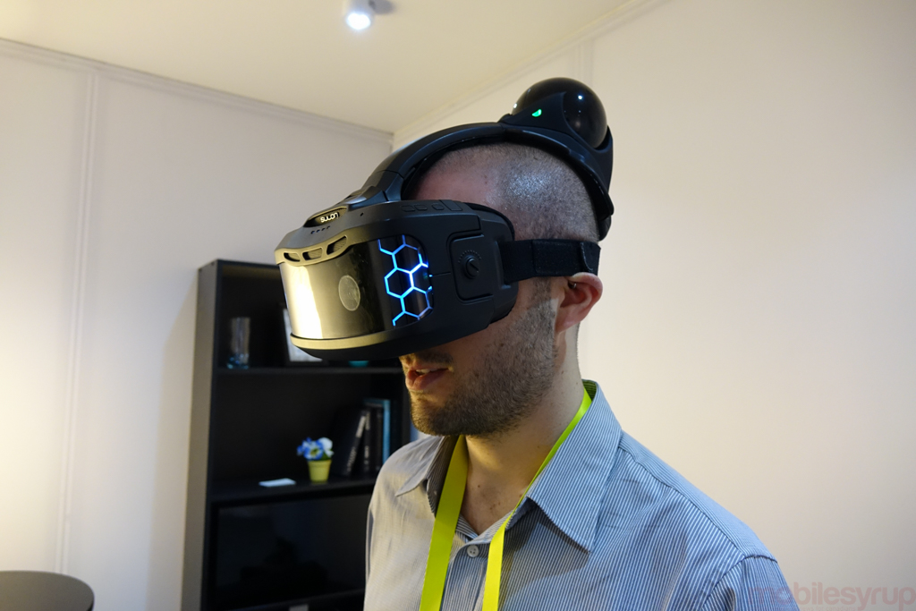 Toronto-based VR startup Sulon wows at CES with early prototype