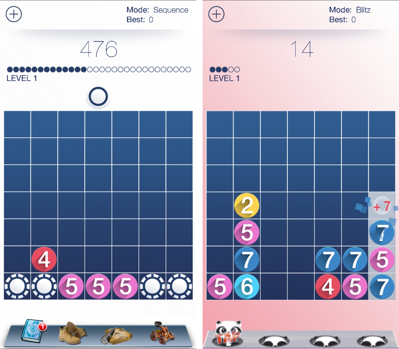 Zynga reboots classic puzzle game Drop7 with mixed results