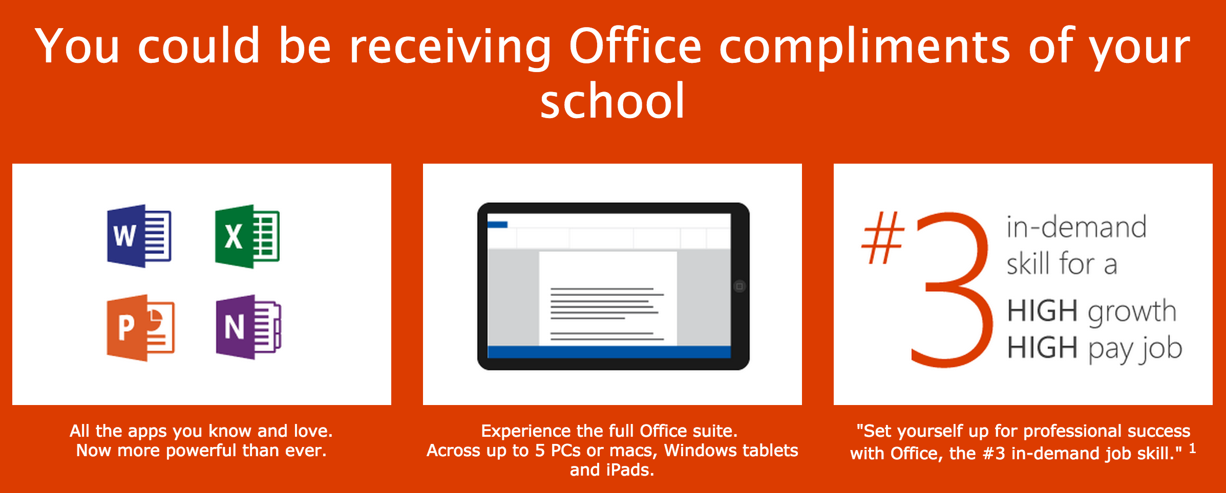 microsoft has announced that most canadian students over 4 million from elementary school to university now have free access to the entire office 365