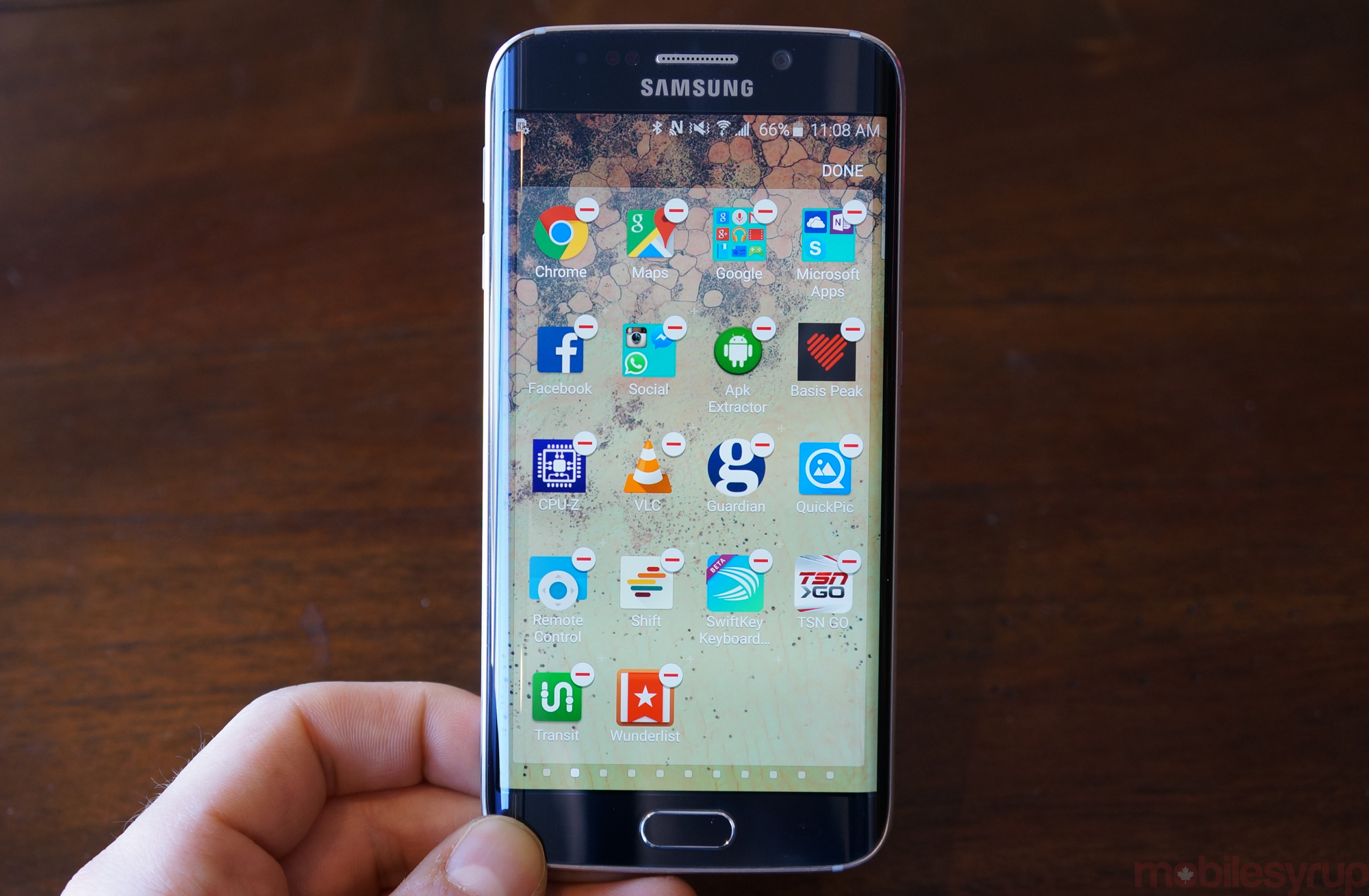Sorry samsung wont let you remove most apps from the galaxy s6 sorry samsung wont let you remove most apps from the galaxy s6 mobilesyrup ccuart Choice Image