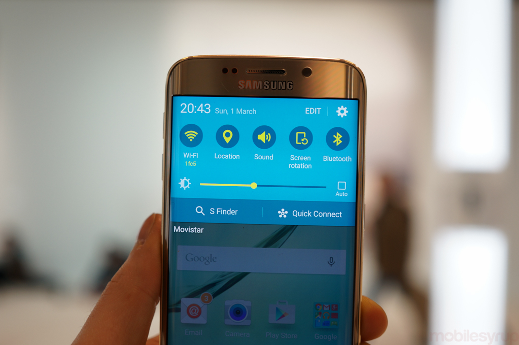 Platinum Gold Samsung Galaxy S6 and Galaxy S6 edge now available in Canada