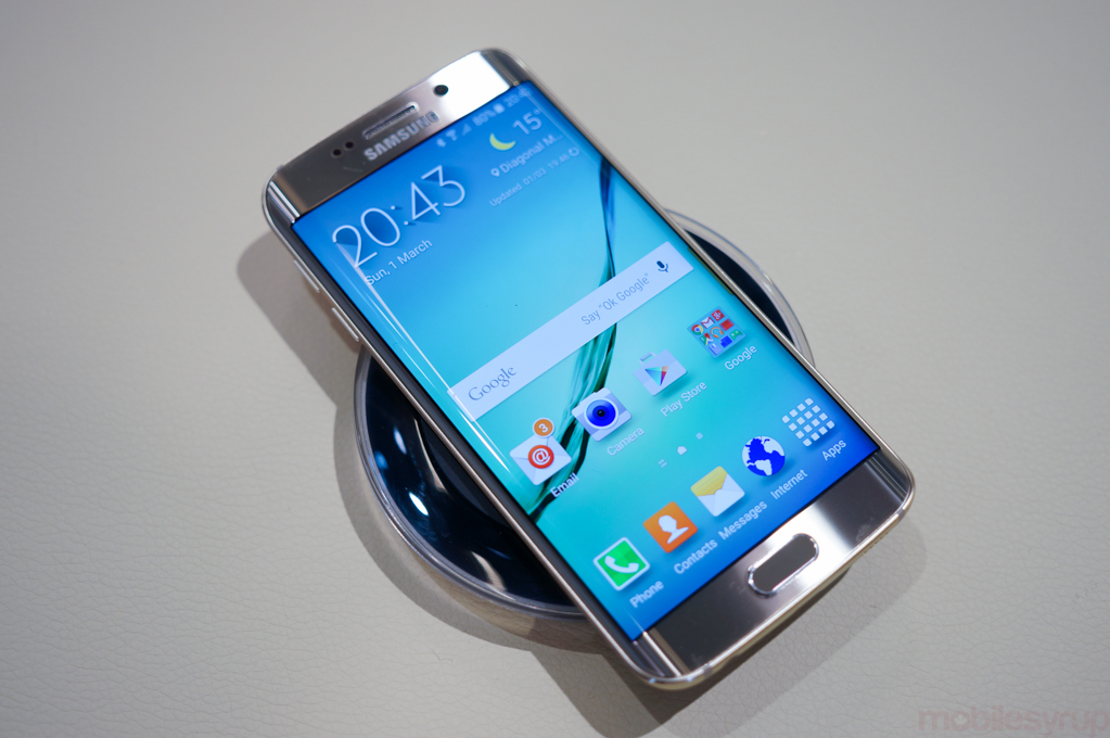 Galaxy S6 Edge hands-on