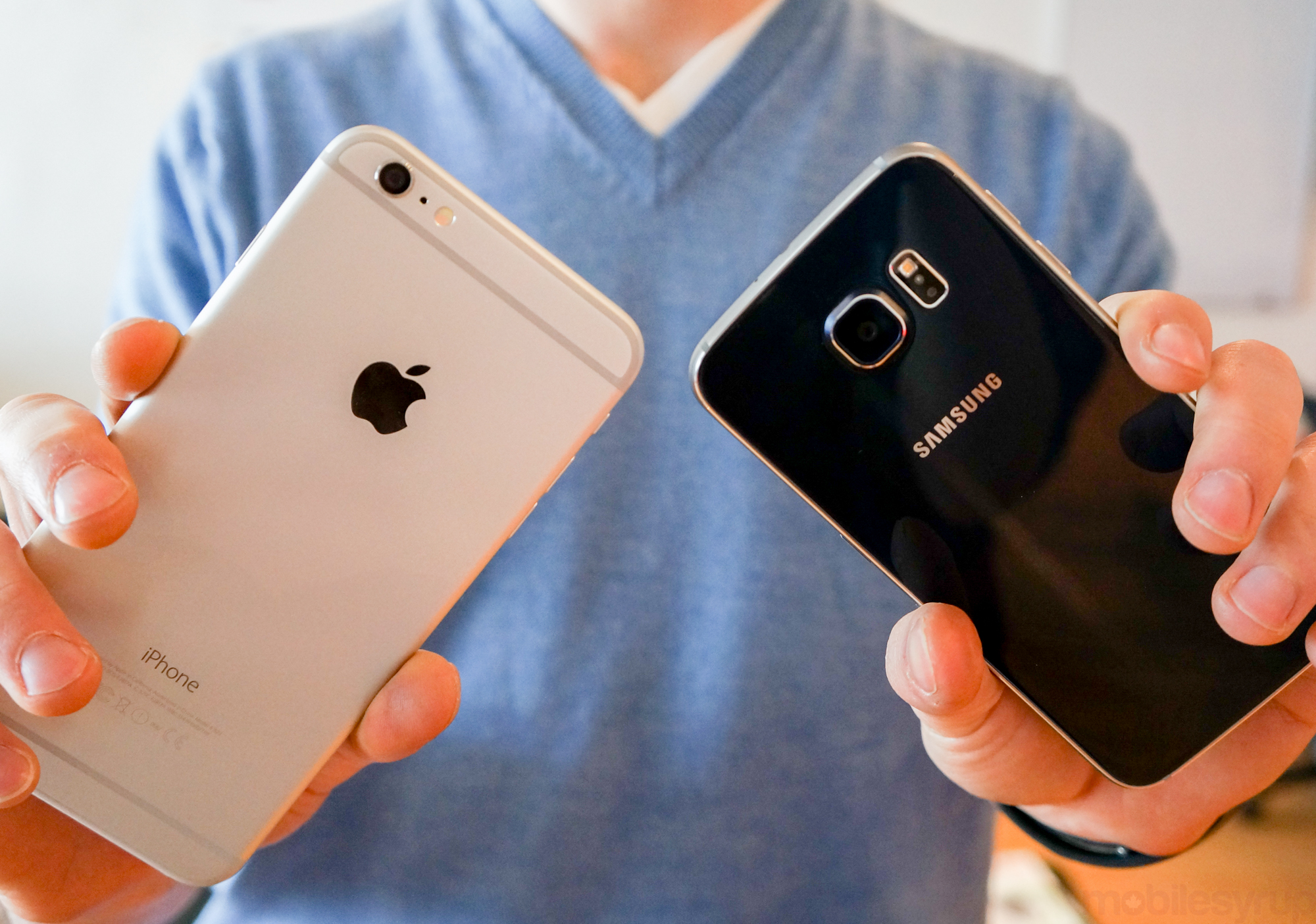 iPhone 6 Plus, Galaxy S6