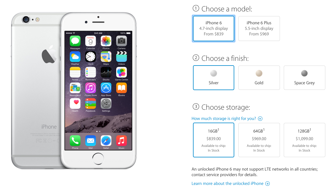 Apple Increases IPhone 6 And Plus Prices In Canada