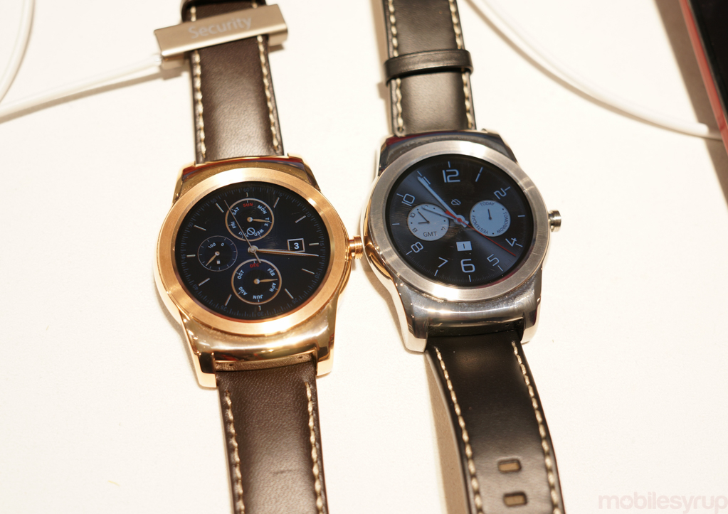 """LG Watch Urbane will be available """"starting this month"""" through the Canadian Google Store"""