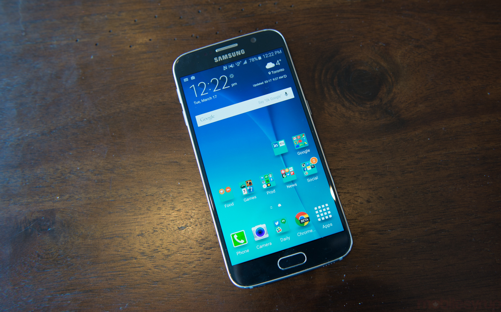 Samsung Galaxy S6 Review Mobilesyrup