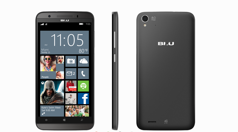 Blu Win HD LTE now available for $229 on Microsoft Store