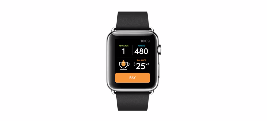 apple watch second cup
