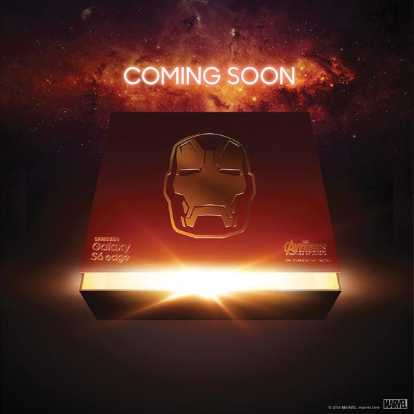 Iron Man Galaxy S6 Edge