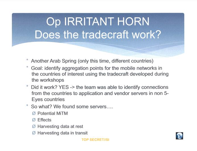 Irritant Horn