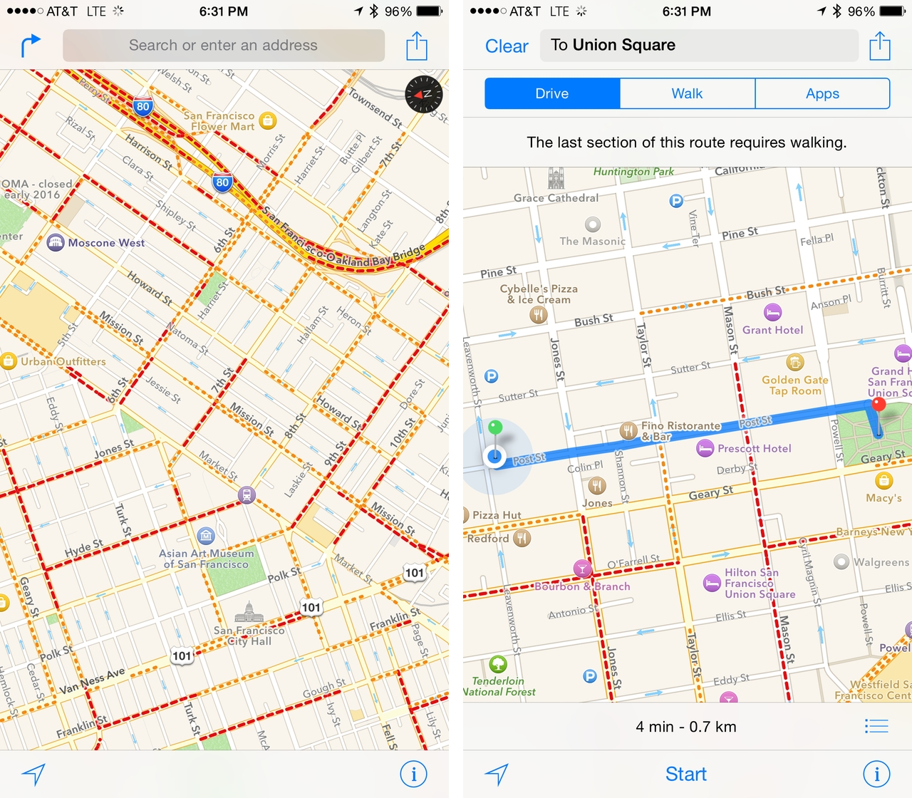 toronto to be sole canadian city with transit directions in redesigned ios 9 apple maps mobilesyrup