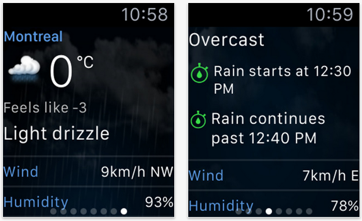 The Weather Network and 680 News launch Apple Watch apps | MobileSyrup